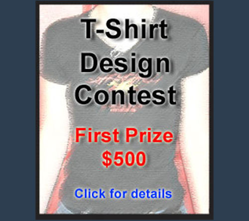 Clickable graphic - contest, click to enter.
